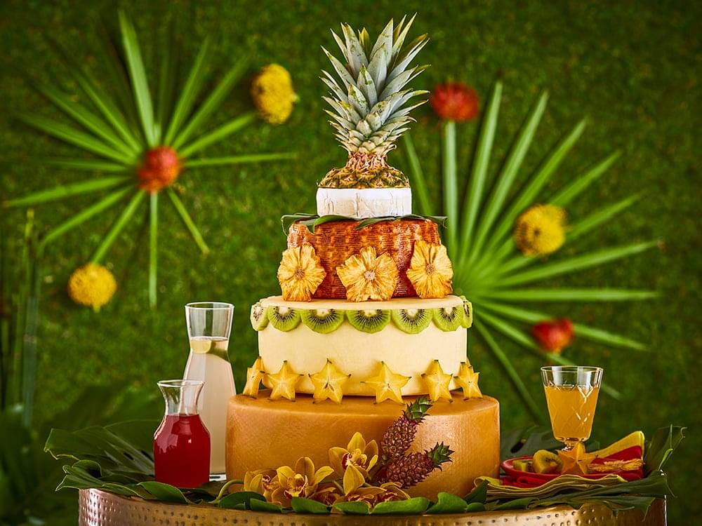 The Tropical Cake.